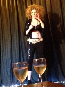 Zuma Puma hosted last night's Lost Cabaret show