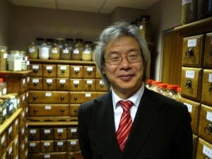 Professor Ke at his new Asante building in Highgate this week