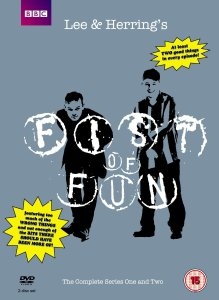"""Fist Of Fun"" - now out as a DVD with BBC logo"