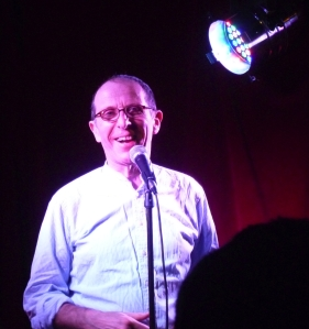 Ivo Dembina at Hampstead Comedy Club last night