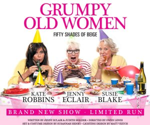 Jenny helped develop the concept of Grumpy Old Women