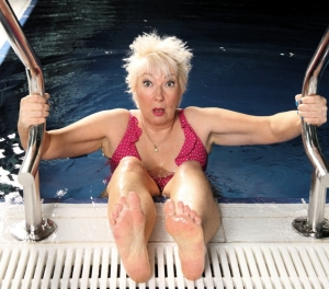 Jenny Eclair was having a Splash! on ITV1 last weekend