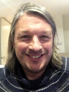 A 'selfie' taken by Richard Herring last week