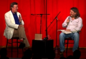 Stephen Fry on Richard's Leicester Square Podcast