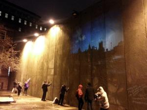The Bethlehem Unwrapped wall