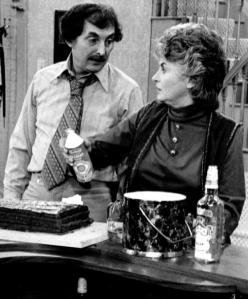 Bea Arthur as Maude with Bill Macy as husband Walter