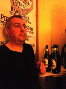 Dickie Richards last night pondering his opening