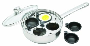 An example of a modern egg poacher