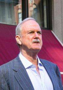 Tall, aloof but older-looking John Cleese