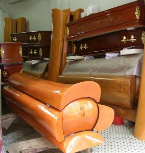A coffin shop on Macau
