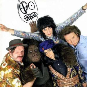 The Mighty Boosh showing their textures