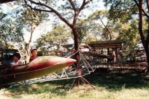 A children's playground in Saigon in 1989