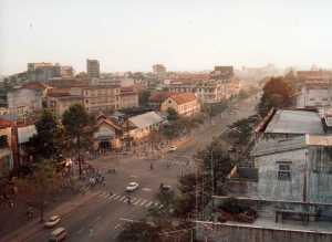 Saigon, as I saw it from the roof of the Rex Hotel in 1989