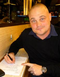 Al Murray writing at Bar Italia this week