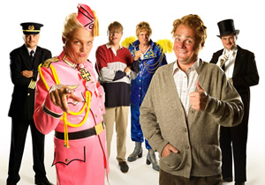 ITV publicity shot for Multiple Personality Disorder