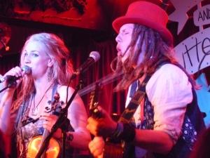 Dulcima and Tom at The Borderline last night