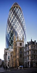 The Gherkin  - 30 St Mary Axe, London