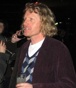 Grayson Perry not wearing a pink dress