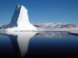 An iceberg - more hidden below the surface than above
