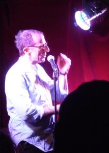 Ivor at his Hampstead Comedy Club in January