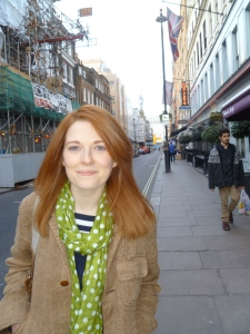 Krysty Wilson-Cairns in Soho, London's film-making