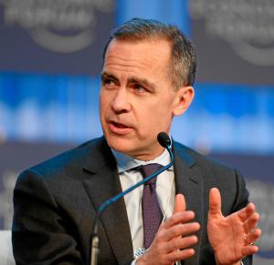 Mark Carney: Is this man a brain-damaged ex-hockey player?