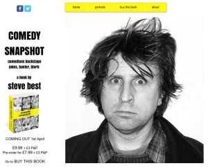 Portrait of Milton Jones on the Comedy Snapshot website