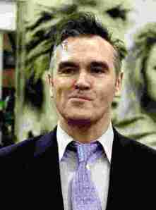 Singer Morrisey: a man who enjoys a good laugh