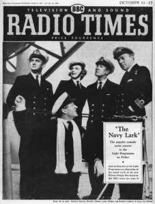 The Navy Lark with (on left) Stephen Murray