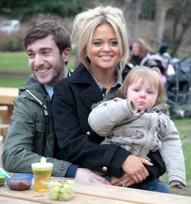 Philip McGinley and Emily Atack in Almost Married