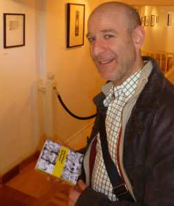 Steve Best at the Nancy Victor Gallery last week