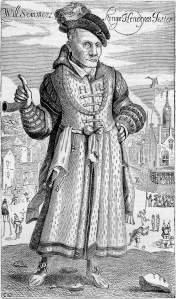 Will Sommers, fool to the Tudor monarchs