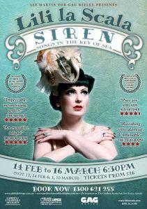 Lilli's new show - not in Edinburgh until 2015