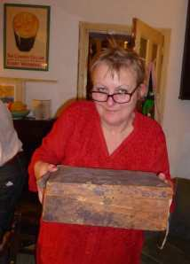 Charmian inherited her Victorian relative's chest
