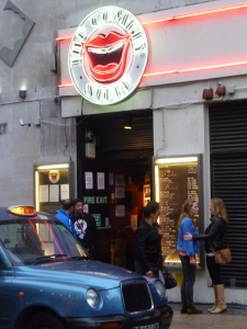 The Comedy Store in London last night