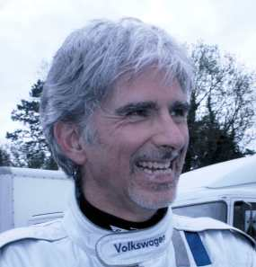 Racing driver Damon Hill in May 2012