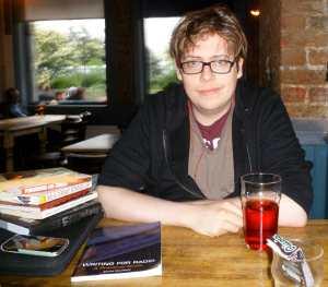 Jorik Mol, curator of what is on The Comedian's Bookshelf