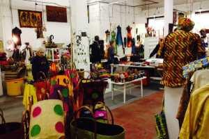 The Mama Biashara shop in London last week