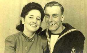 My parents in their twenties in the 1940s