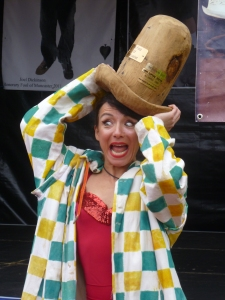 Abi Collins aka Katinka - Muncaster's first female Fool