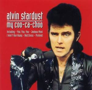 Alvin Stardust and his glove in the glory days