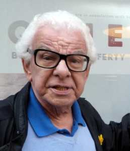 Barry Cryer, comedy storyteller, yesterday