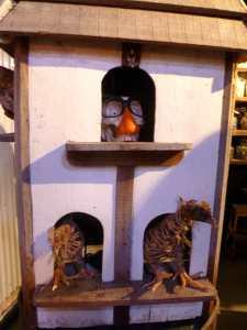 Charlie Tuesday Gates' dead bird house