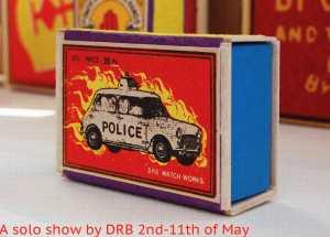 DRB's publicity for the Ben Oakley exhibition