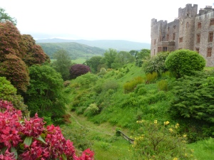 Muncaster Castle - lovely, if isolated