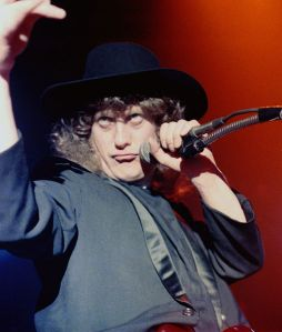 Noddy Holder in 1981 (Photograph by Andrew King