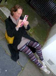 Vivienne Soan in Greenwich on Sunday