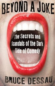 Bruce's book on the dark side of comedy