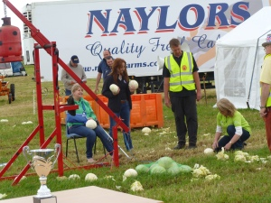 Careful preparation is all in the cabbage hurling world