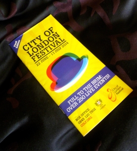The City programme - over 250 live events